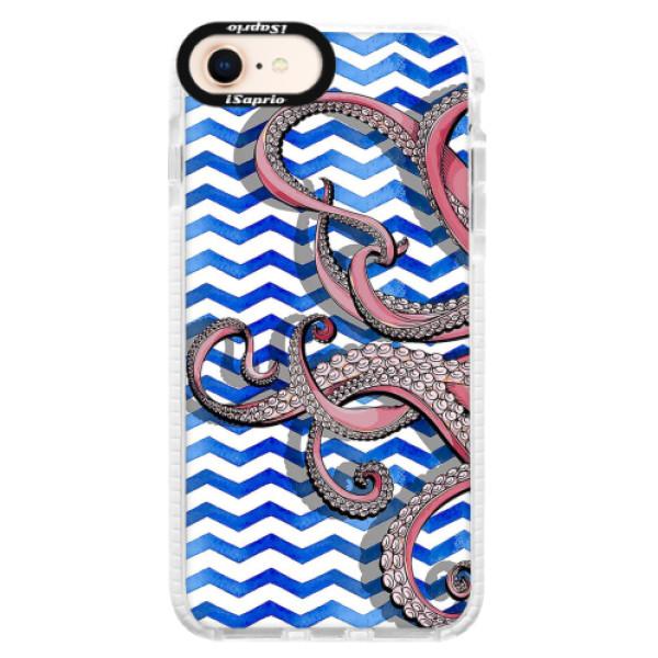 Silikonové pouzdro Bumper iSaprio - Octopus - iPhone 8