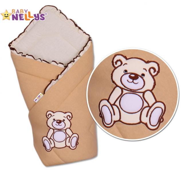 baby-nellys-zavinovacka-teddy-bear-jersey-hneda