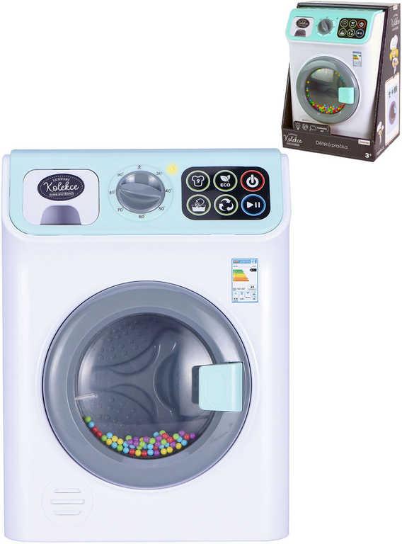 Pračka funkční dotykový panel luxusní kolekce na baterie Světlo Zvuk
