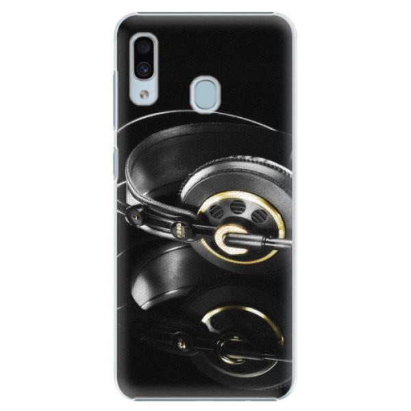 Plastové pouzdro iSaprio - Headphones 02 - Samsung Galaxy A30