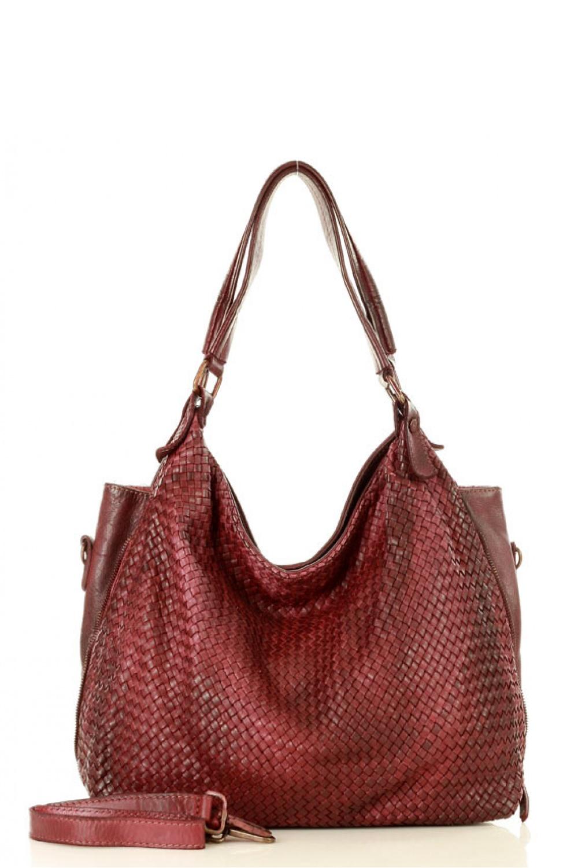 Přírodní kožená taška model 136597 Mazzini - UNI velikost