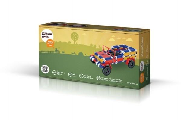 Stavebnice Seva Patrol plast 238ks v krabici 31,5x16,5x7,5cm