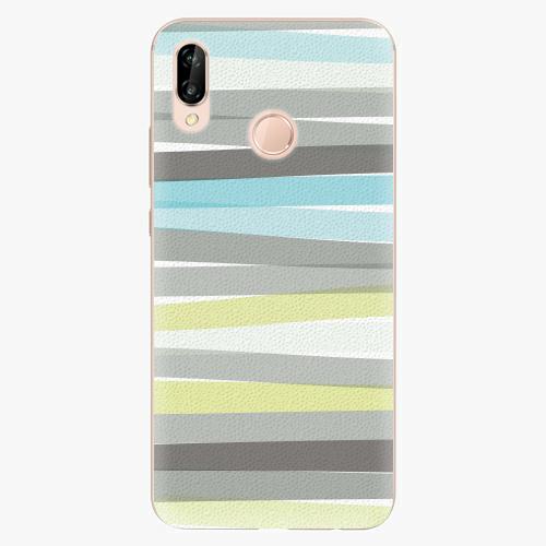 Plastový kryt iSaprio - Stripes - Huawei P20 Lite