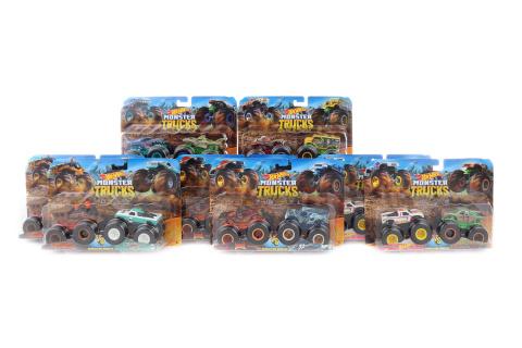 Hot Wheels Monster trucks demoliční duo FYJ64 TV 1.4.-30.6.2019