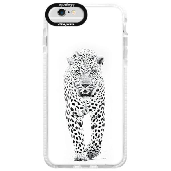 Silikonové pouzdro Bumper iSaprio - White Jaguar - iPhone 6 Plus/6S Plus
