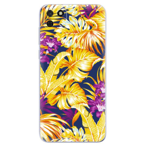 Odolné silikonové pouzdro iSaprio - Tropical Orange 04 - Huawei Y5p