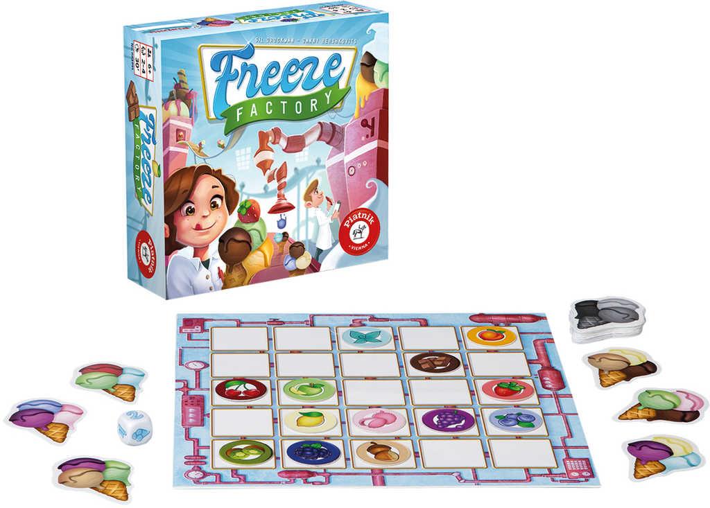 PIATNIK Hra Freeze Factory *SPOLEČENSKÉ HRY*
