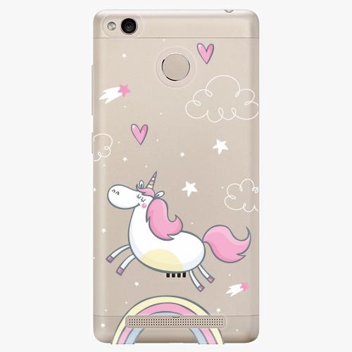 Plastový kryt iSaprio - Unicorn 01 - Xiaomi Redmi 3S