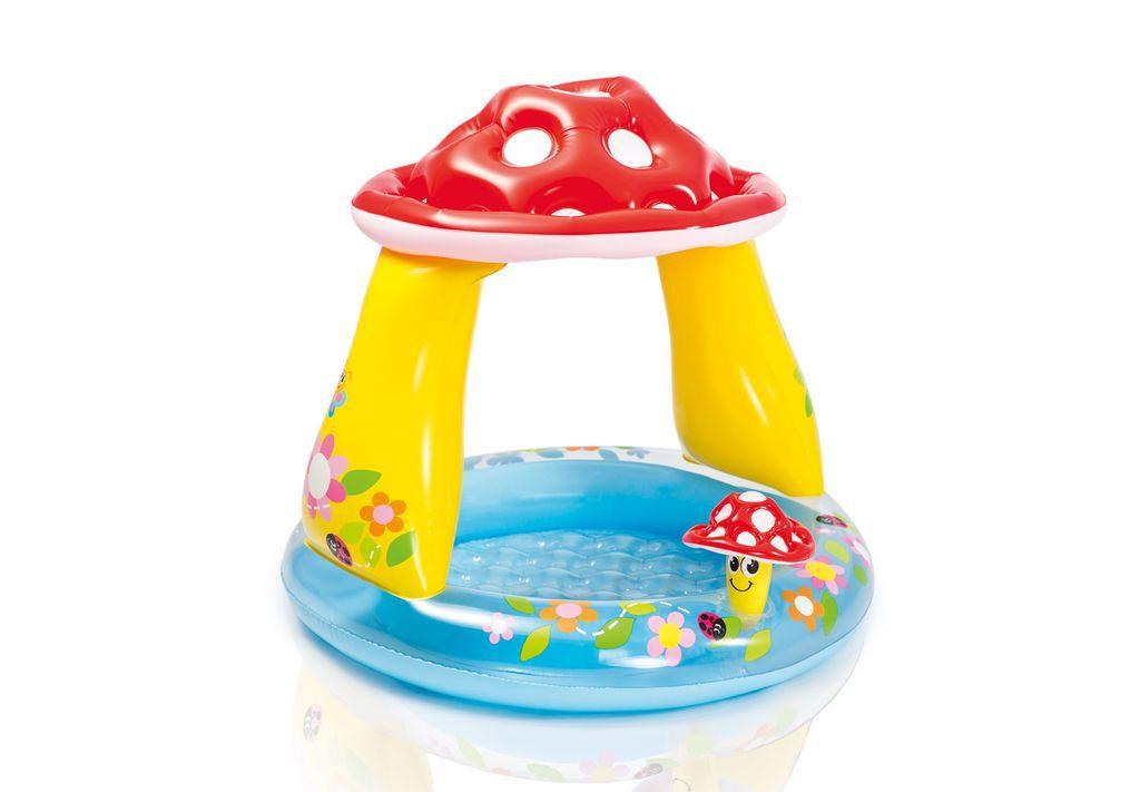 Bazén dětský se stříškou - muchomůrka