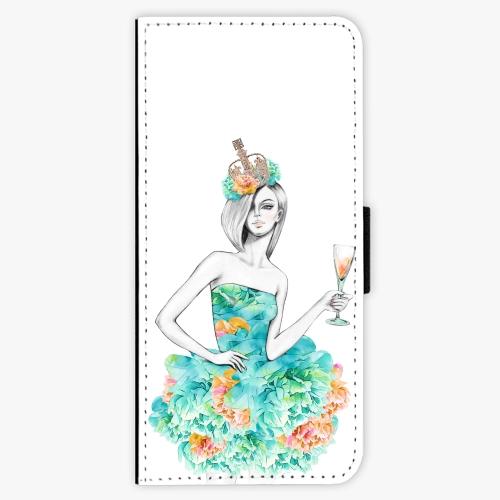 Flipové pouzdro iSaprio - Queen of Parties - Samsung Galaxy Note 8