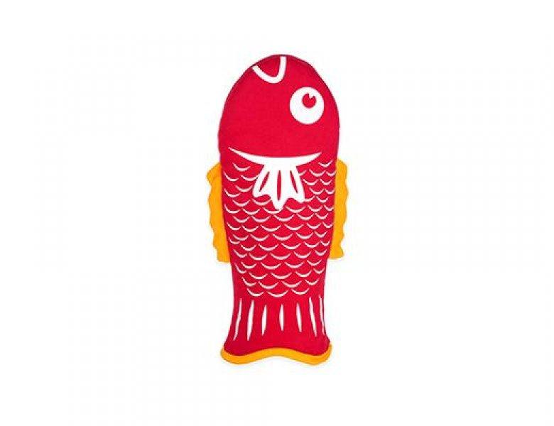 Kuchyňská chňapka - rybička červená