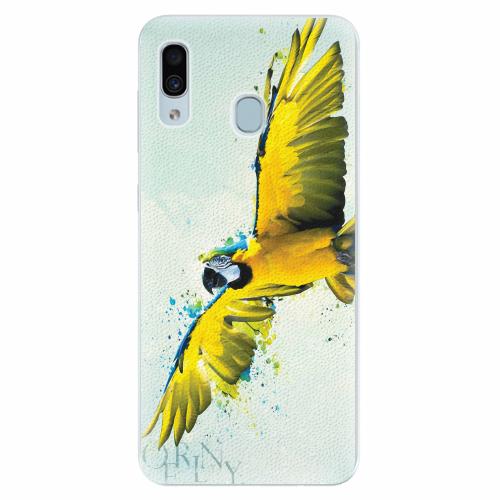 Silikonové pouzdro iSaprio - Born to Fly - Samsung Galaxy A30