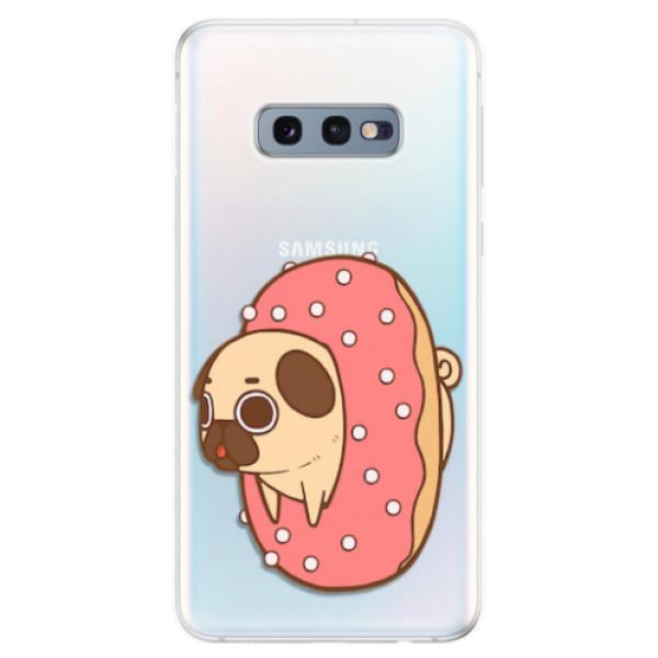 Odolné silikonové pouzdro iSaprio - Dog 04 - Samsung Galaxy S10e