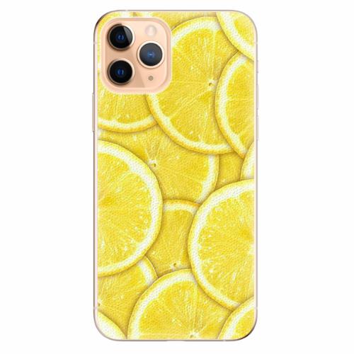 Silikonové pouzdro iSaprio - Yellow - iPhone 11 Pro