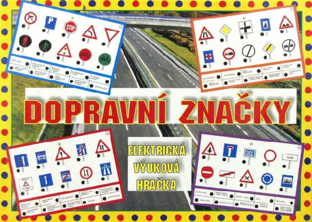 SVOBODA Elektronická hra Dopravní značky