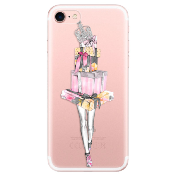 Odolné silikonové pouzdro iSaprio - Queen of Shopping - iPhone 7