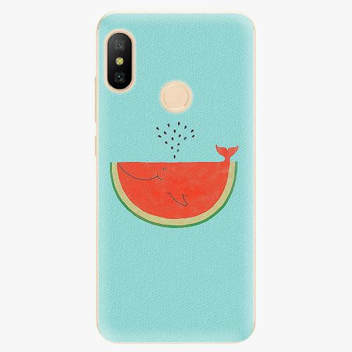 Silikonové pouzdro iSaprio - Melon - Xiaomi Mi A2 Lite