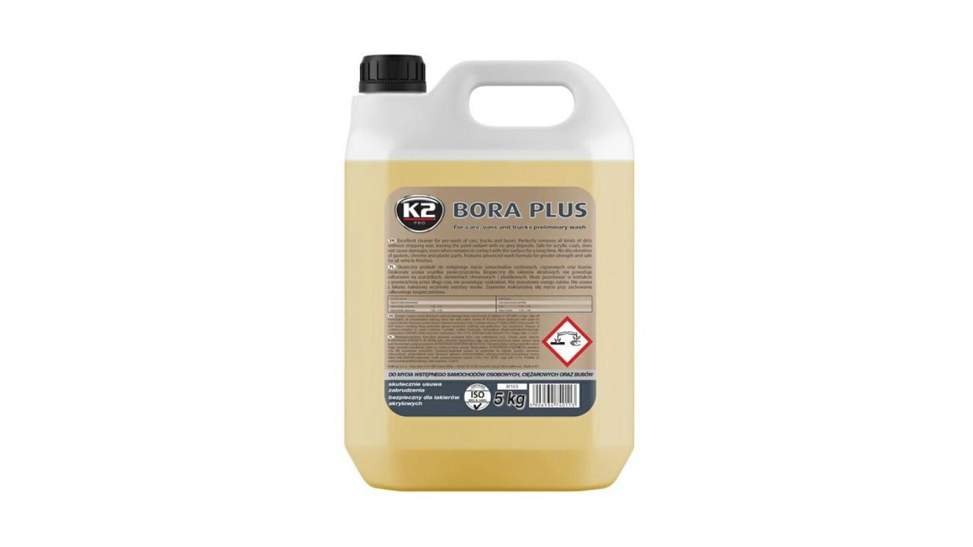 K2 BORA PLUS 5 kg - mycí prostředek