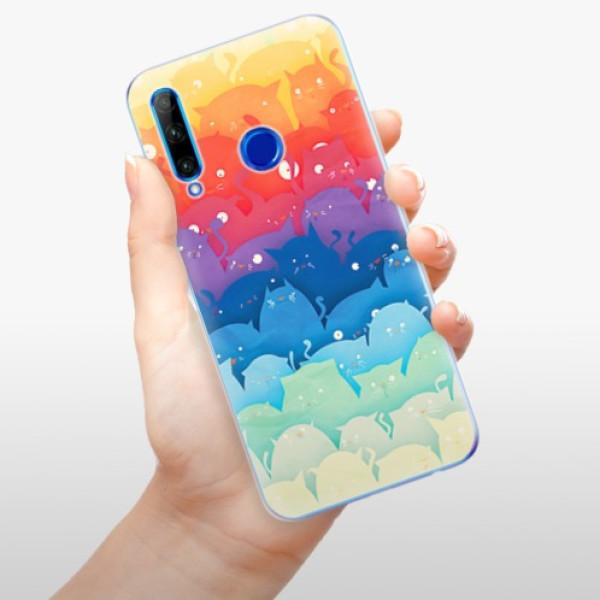 Odolné silikonové pouzdro iSaprio - Cats World - Huawei Honor 20 Lite