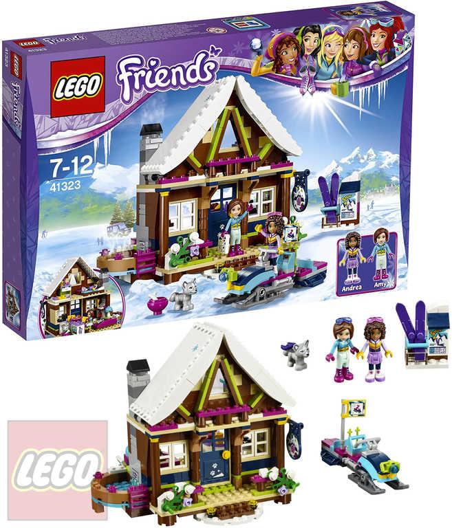 LEGO FRIENDS Chata v zimním středisku 41323 STAVEBNICE