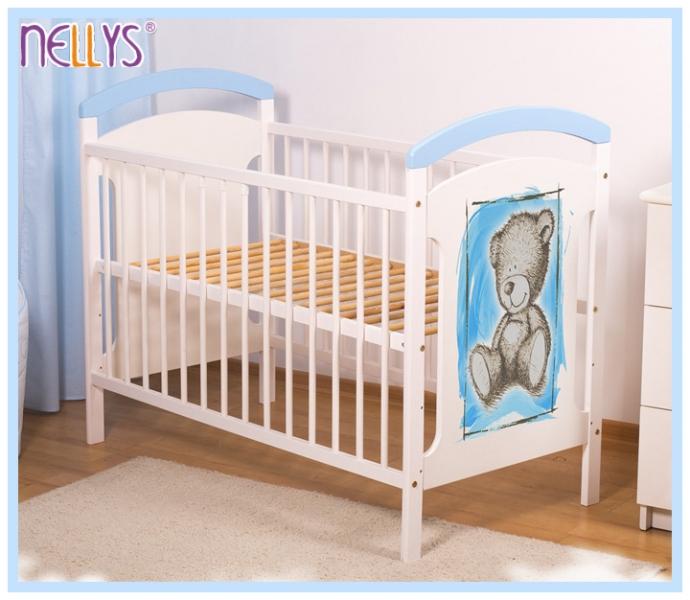 drevena-postylka-teddy-nellys-120-x-60-cm-modra-bila-120x60