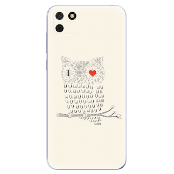 Odolné silikonové pouzdro iSaprio - I Love You 01 - Huawei Y5p