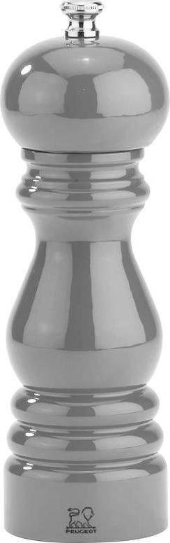 PARIS mlýnek na sůl šedý metalický 32142