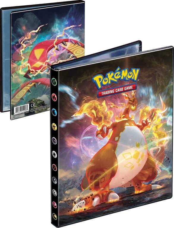 ADC Pokémon Sword and Shield: Darkness Ablaze album sběratelské A5 na 80 karet