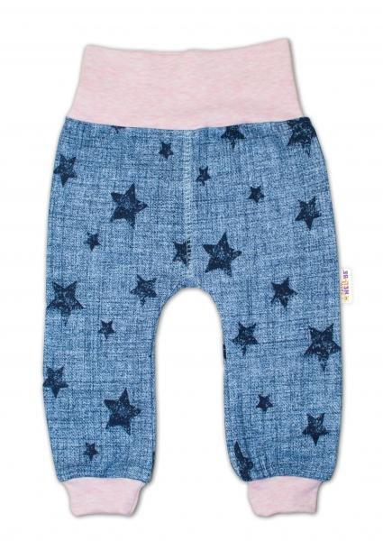 Tepláčky Hvězdičky jeans