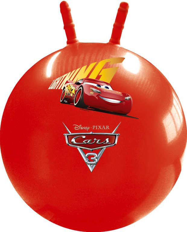 Míč nafukovací skákací Auta (Cars) 50cm hopsadlo klučičí červené
