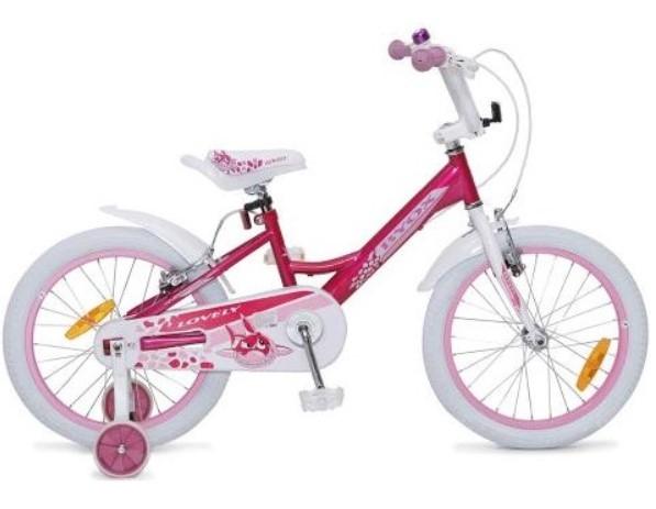 Byox Dětské kolo Lovely 18, růžové