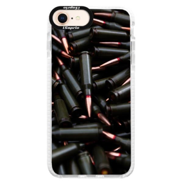 Silikonové pouzdro Bumper iSaprio - Black Bullet - iPhone 8