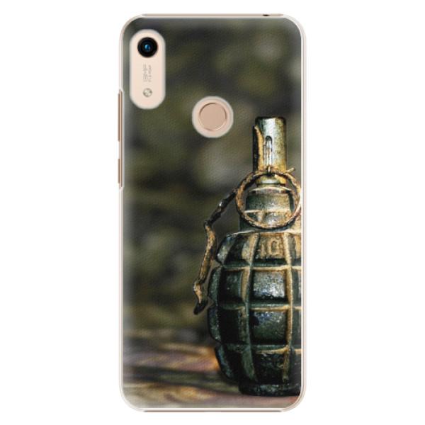 Plastové pouzdro iSaprio - Grenade - Huawei Honor 8A