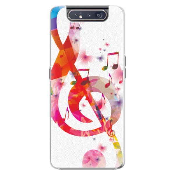Plastové pouzdro iSaprio - Love Music - Samsung Galaxy A80