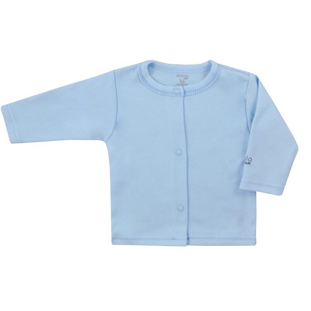 Kojenecký bavlněný kabátek Koala Happy Baby - modrá/80 (9-12m)
