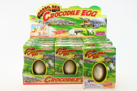 Tesání krokodýlí vejce