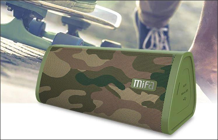 Přenosný reproduktor Mifa - Maskáčová