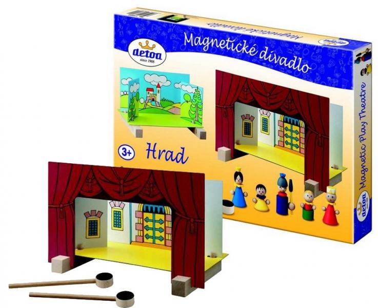 Divadlo magnetické - Hrad