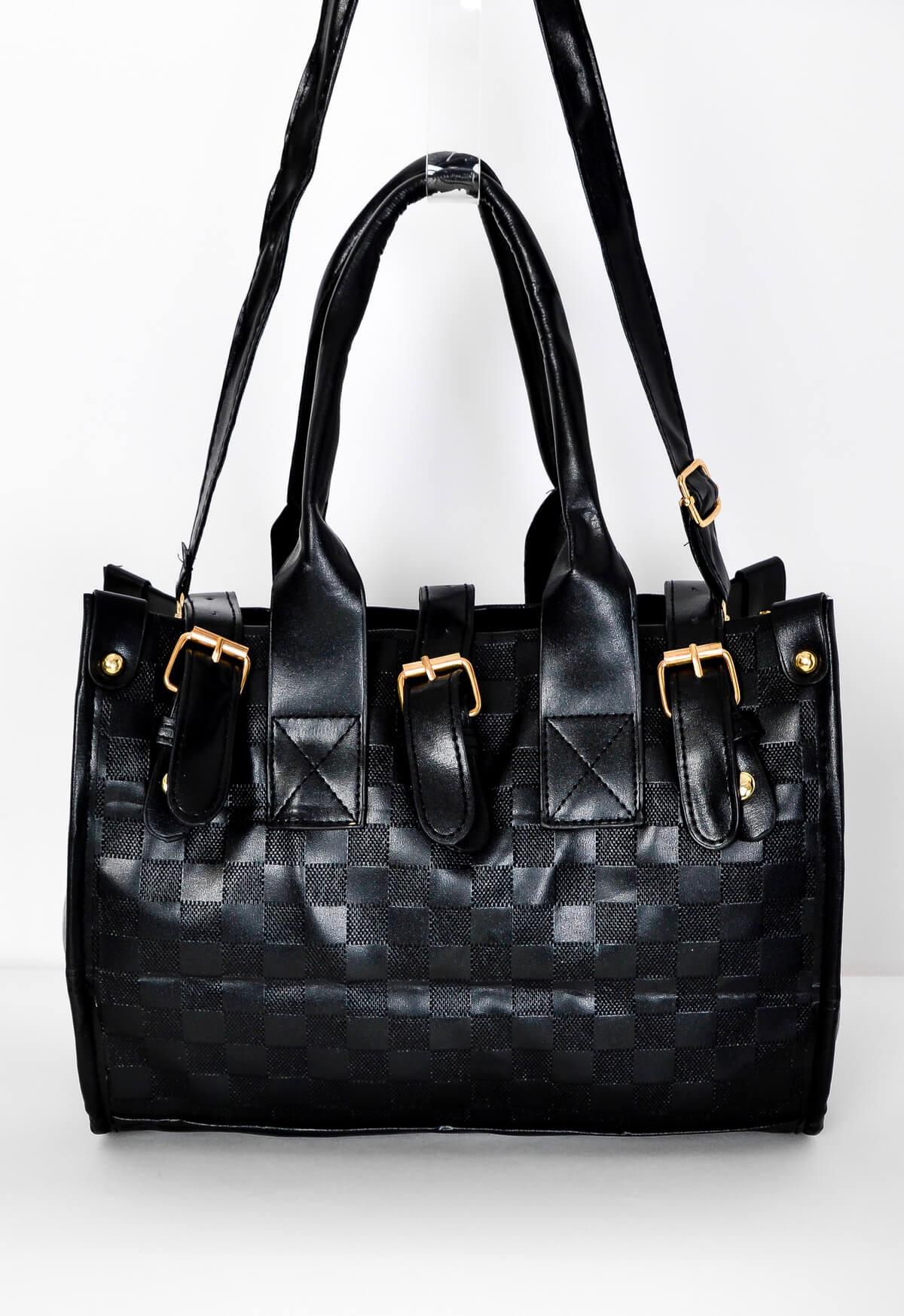 Černá dámská kabelka s uchy - Černá/univerzální