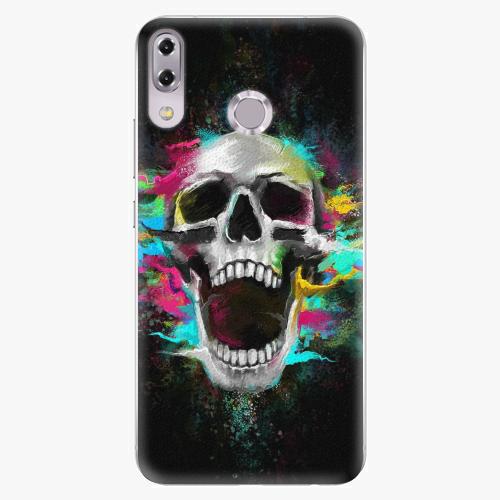 Plastový kryt iSaprio - Skull in Colors - Asus ZenFone 5Z ZS620KL