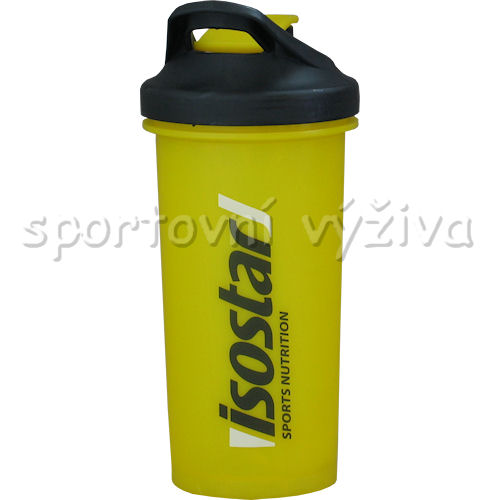 Isostar shaker elite 700ml-zluty