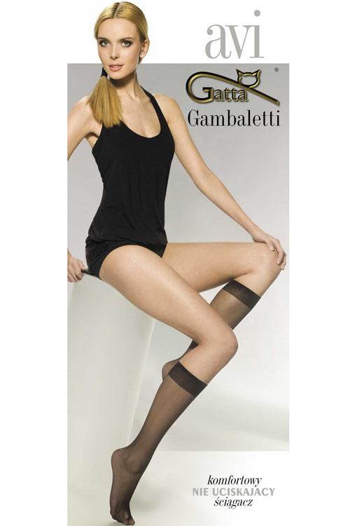Podkolenky Gambaletti Avi Classic - Gatta - Beige/uni