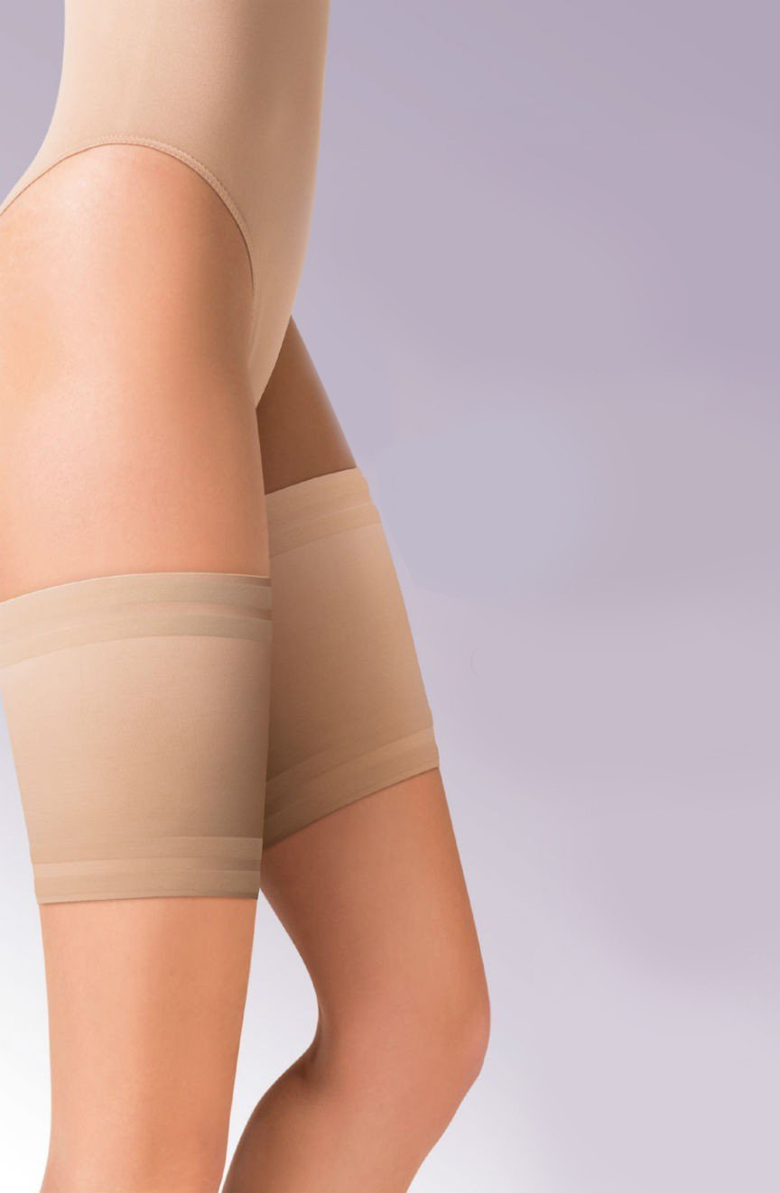 Ochranný pásek na stehna 510 Satin thigh band bandaletky - Gabriella