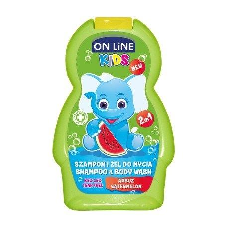 Kids Meloun 2v1 šampon a sprchový gel