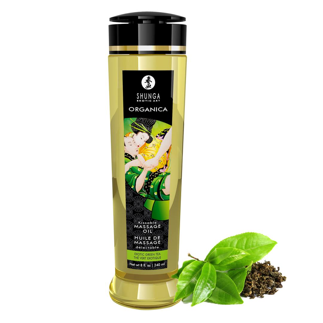 Shunga - Massage Oil Organica Exotic Green Tea