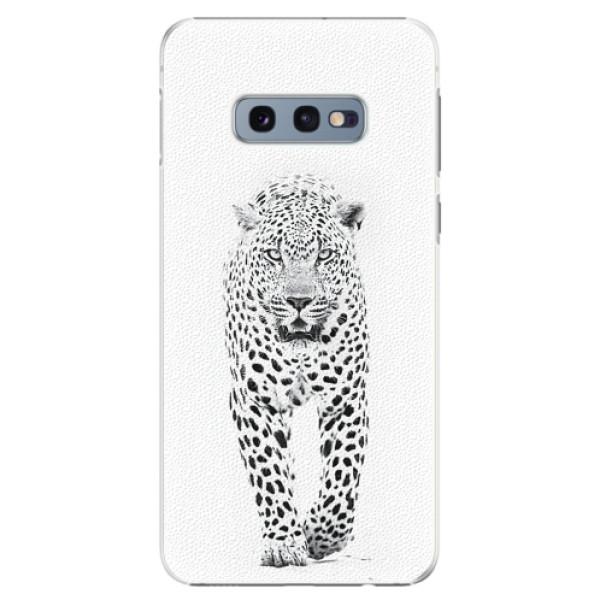 Plastové pouzdro iSaprio - White Jaguar - Samsung Galaxy S10e