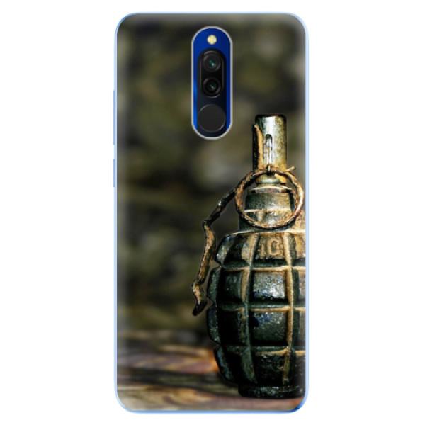 Odolné silikonové pouzdro iSaprio - Grenade - Xiaomi Redmi 8