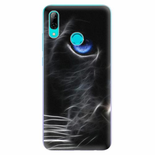 Silikonové pouzdro iSaprio - Black Puma - Huawei P Smart 2019