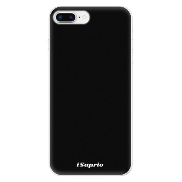 Odolné silikonové pouzdro iSaprio - 4Pure - černý - iPhone 8 Plus