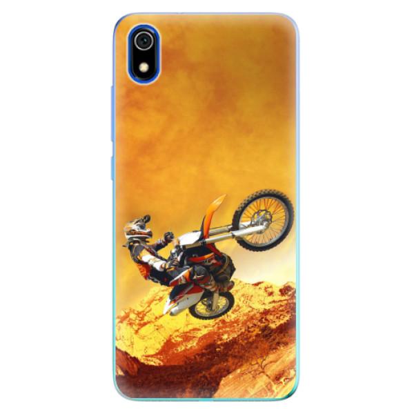 Odolné silikonové pouzdro iSaprio - Motocross - Xiaomi Redmi 7A